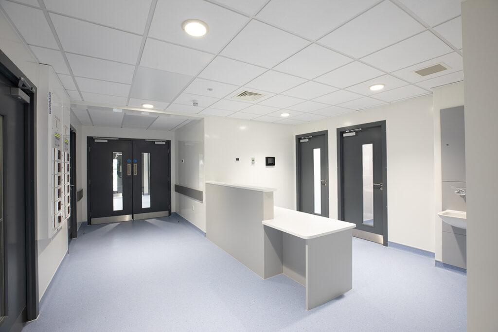 ModuleCo Internal Negative pressure Isolation Ward Unit Image Reception