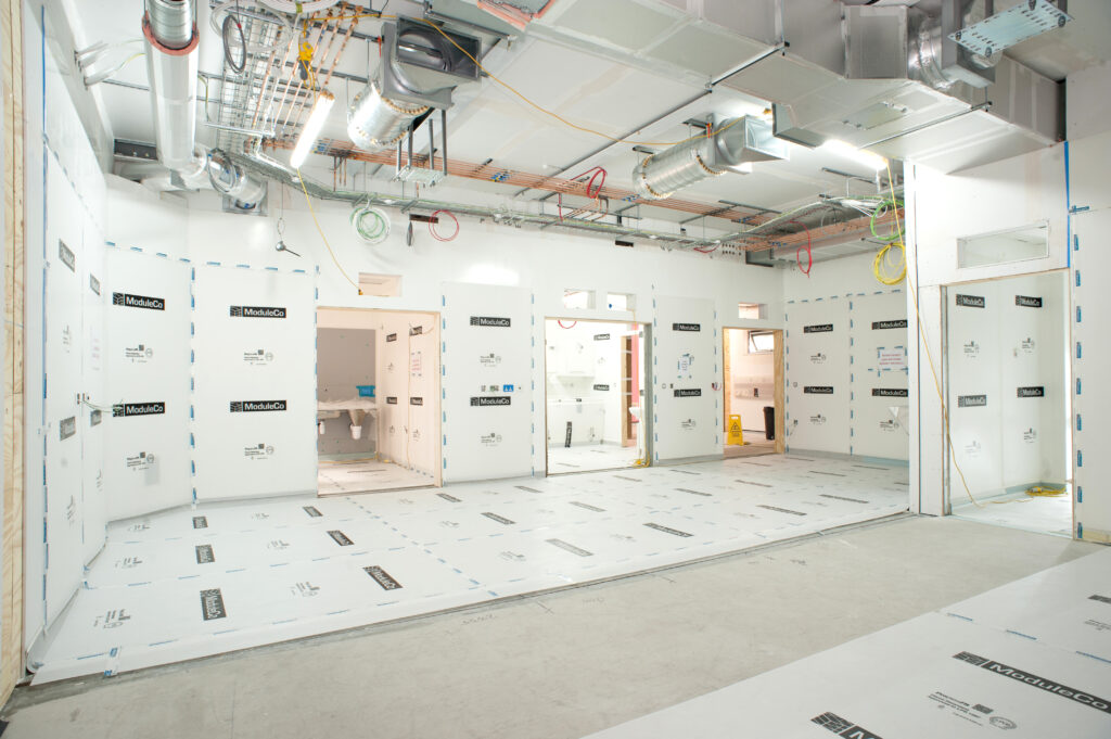 Internal Factory Off-Site ModuleCo Modular Operating Theatre Healthcare Facility Image