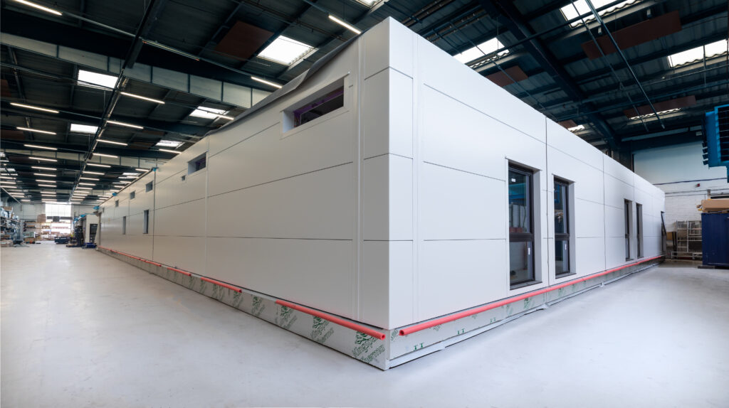 ModuleCo Modular Ward In Factory External Image