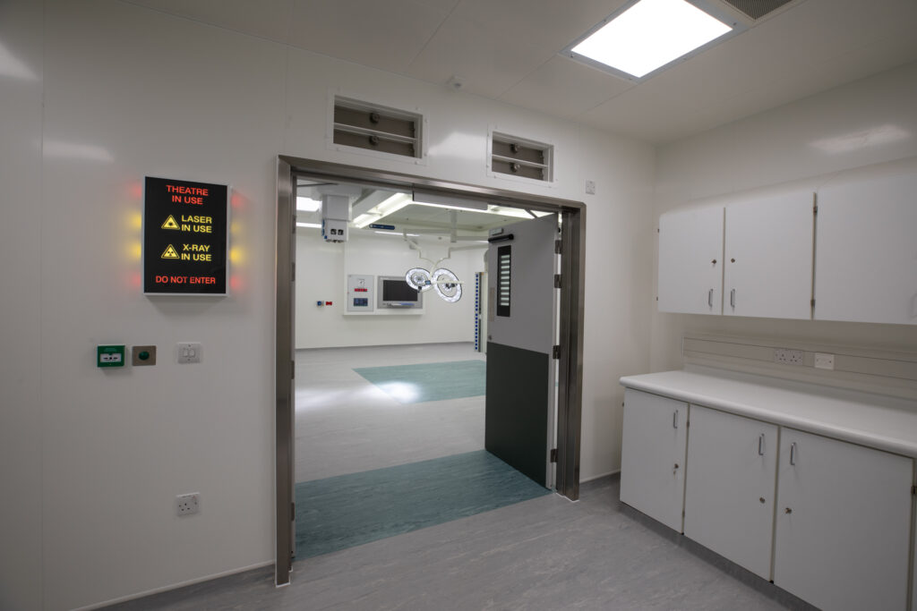 Looking Into ModuleCo Modular Operating Theatre Facility at Lancaster Hospital Image