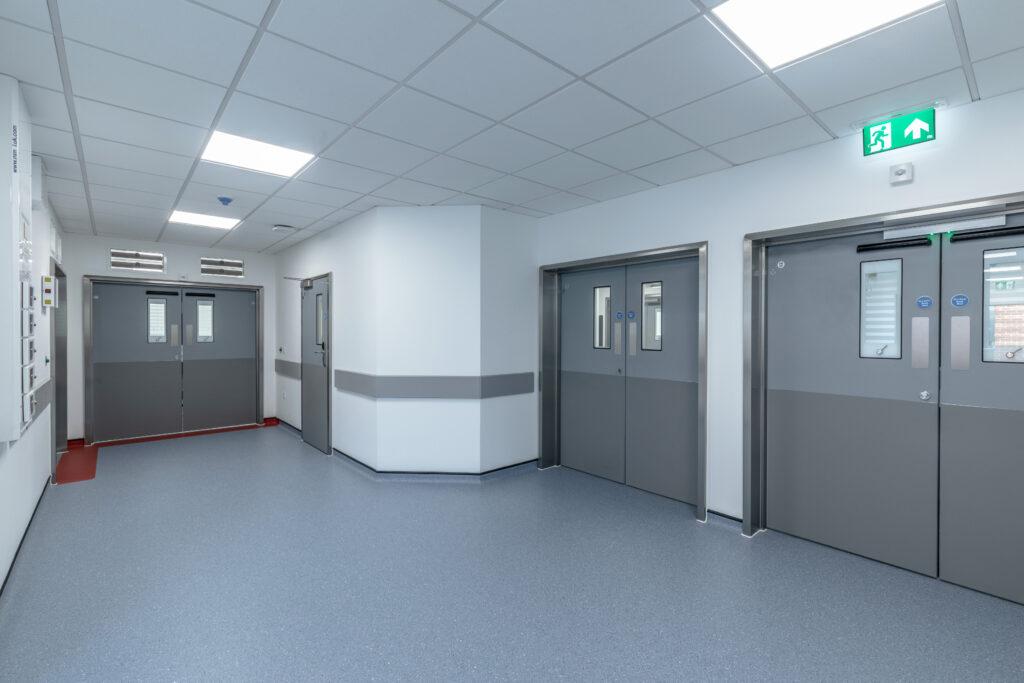 ModuleCo Multiple Modular Operating Theatre Complex Corridor Image