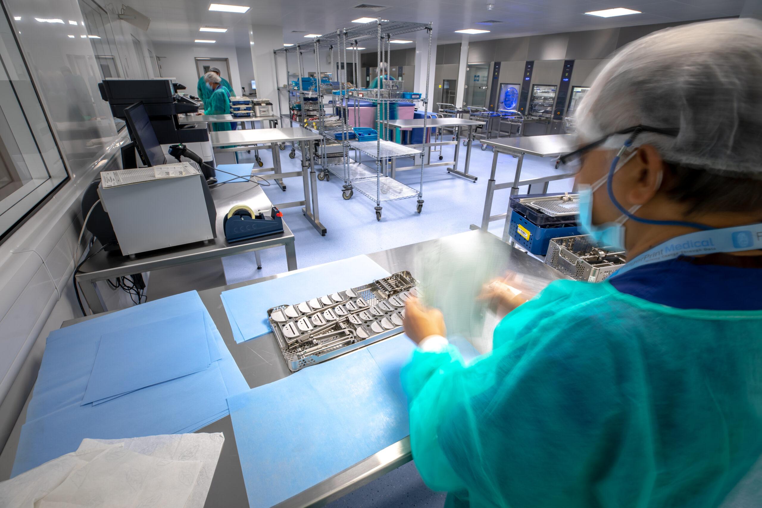 ModuleCo Modular Central Sterile Services Department Facility Image