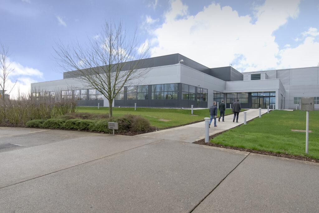 ModuleCo Modular Laboratory Healthcare Facility External Image
