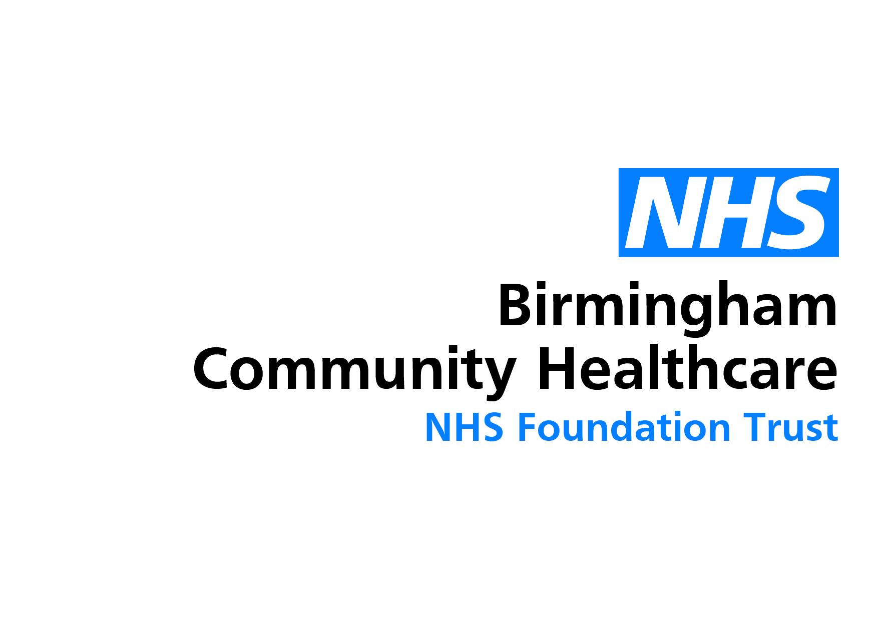 Birmingham Community Healthcare NHS Logo