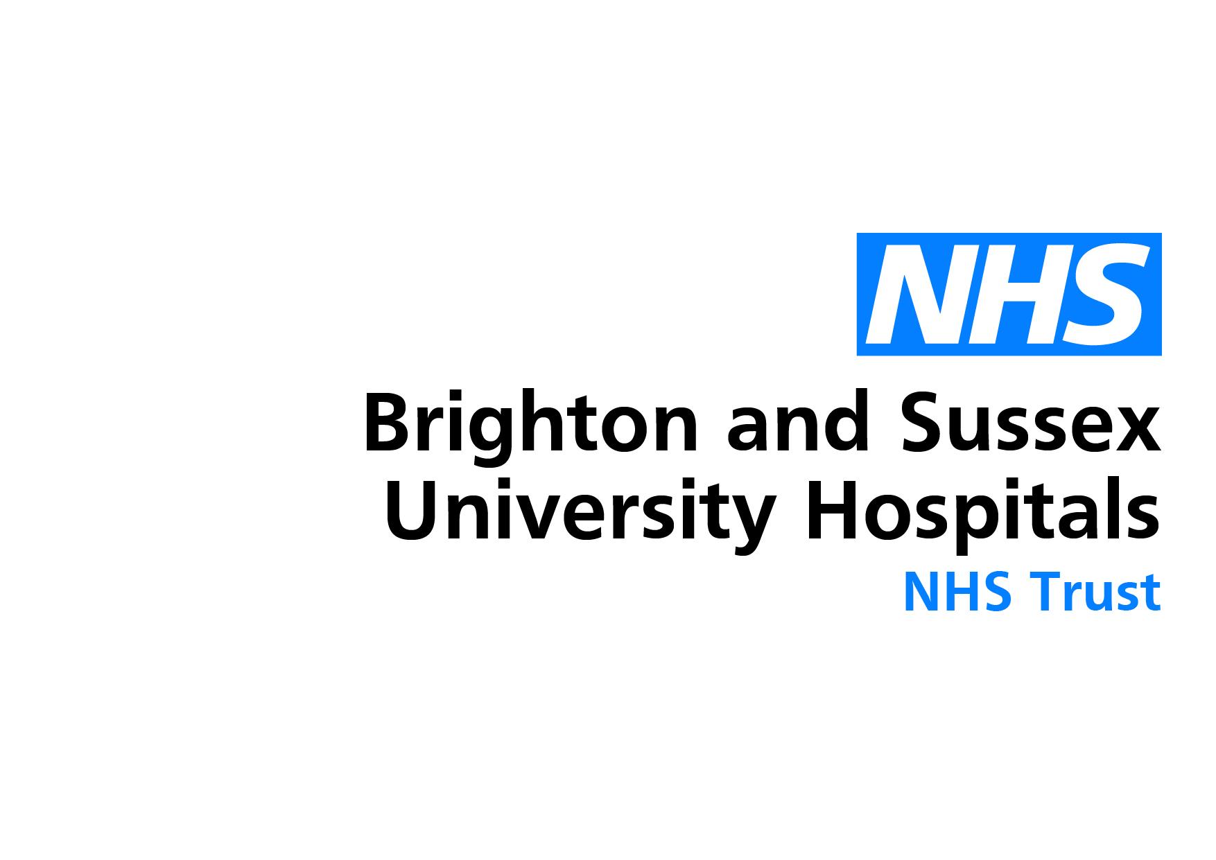 Brighton and Sussex University Hospitals NHS Logo