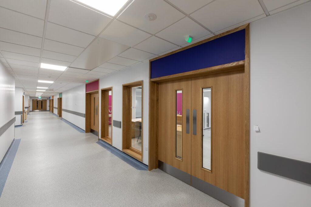 Modular Hospital Ward Corridor Image