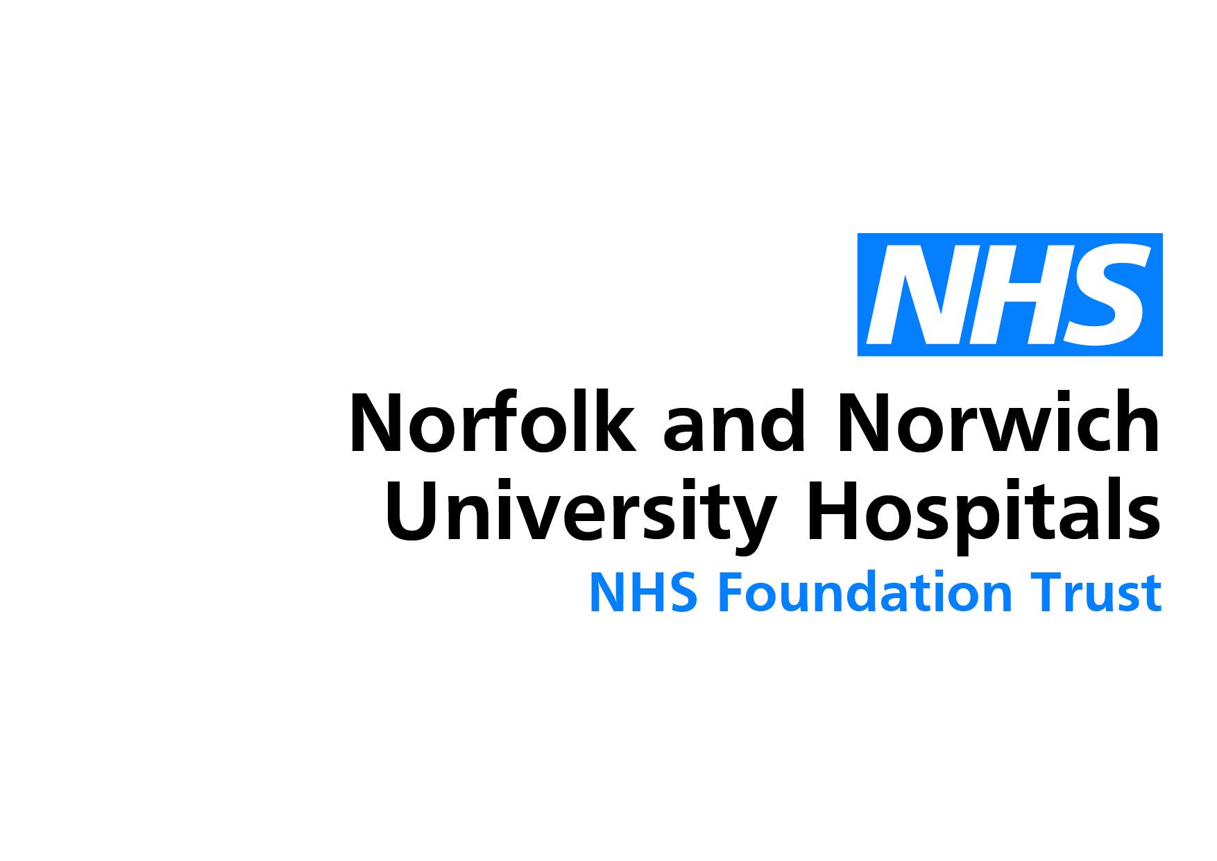 Norfolk and Norwich University Hospitals NHS Logo