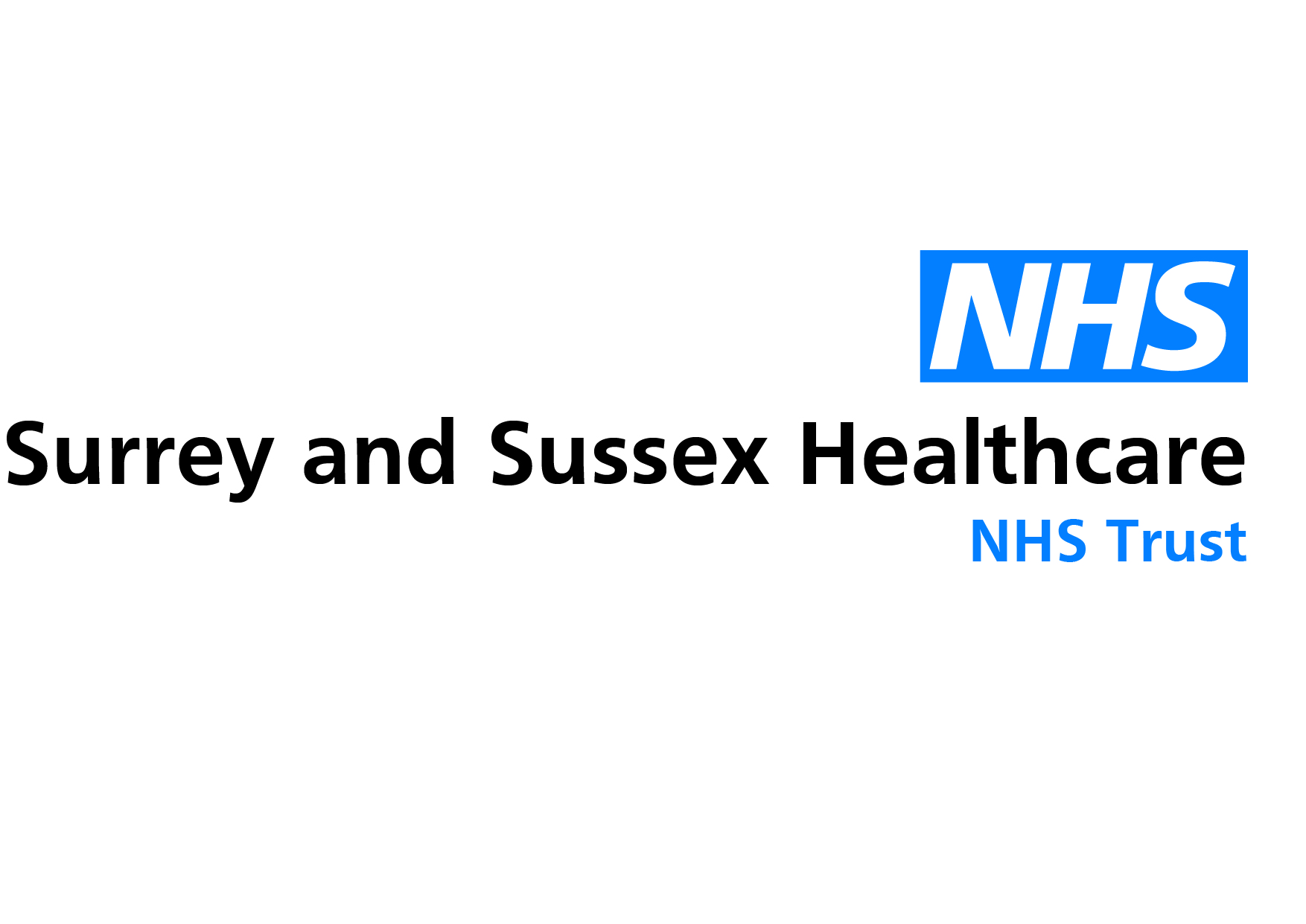 Surrey and Sussex Healthcare NHS Logo