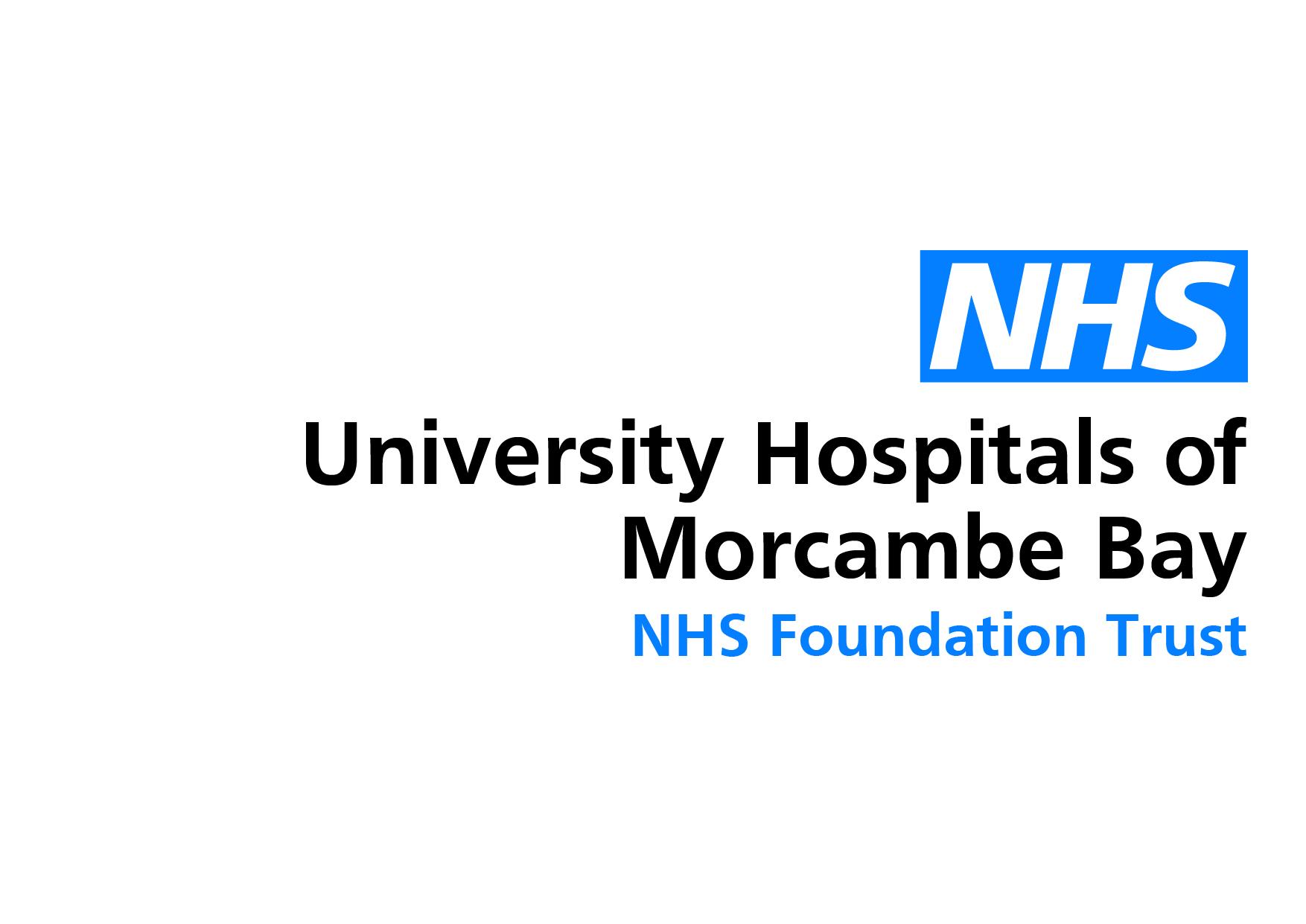 University Hospitals of Morcambe Bay NHS Logo