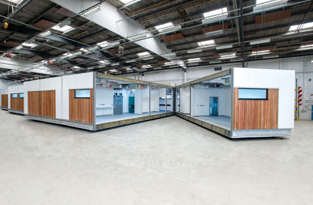 Modular Healthcare Facility Split In Factory Off-Site Image