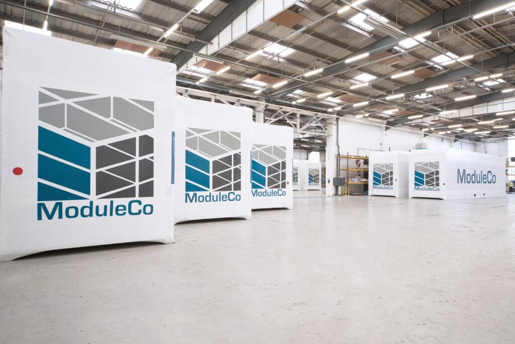 Wrapped Modular Healthcare Facilities In ModuleCo Factory